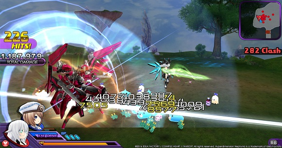 Hyperdimension Neptunia U Action Unleashed PC Full Version Screenshot 3