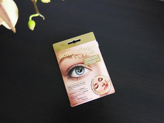Kolagenowe płatki pod oczy ze złotem | GlySkinCare | Golden Collagen Eye Pads