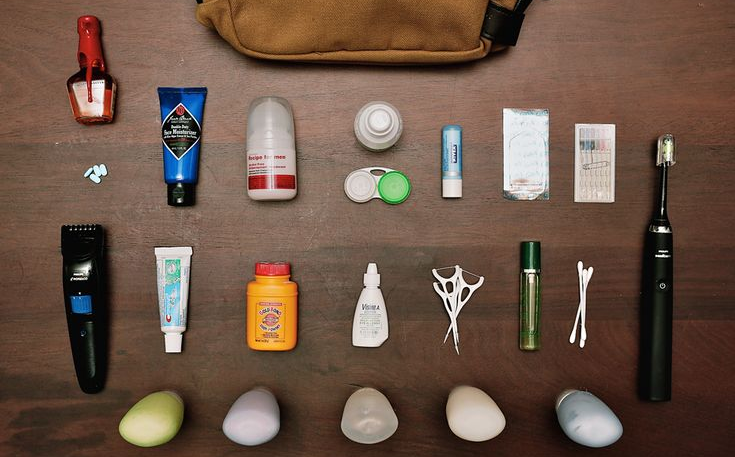travelling essential toiletries checklist