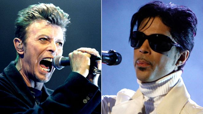 David Bowie and Prince new entries on Forbes dead celebrity list