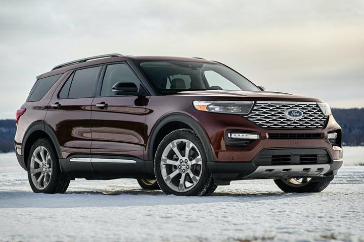 Ford tung Explorer Trung Quốc với thiết kế khác biệt, giá chỉ bằng nửa bản nhập - Ảnh 3.