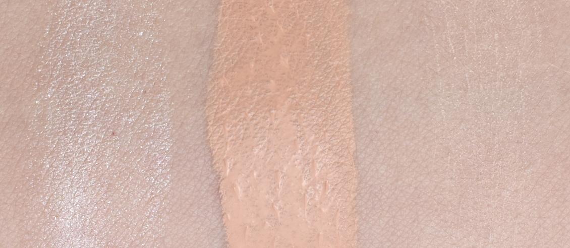183 Days by trend IT UP Baby Skin Serie - Swatches - Matte Foundation - Base Primer und Matte Powder