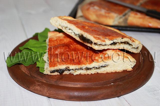 рецепт пирога со щавелем