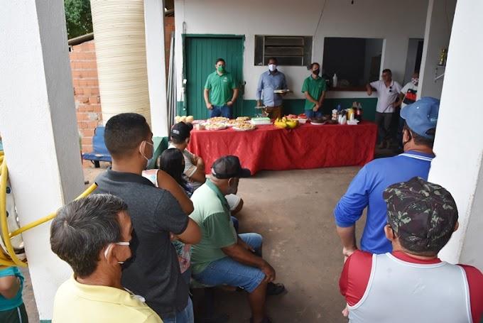 Prefeito João Balbino participou de Café da Manhã na Secretaria Municipal de Infraestrutura