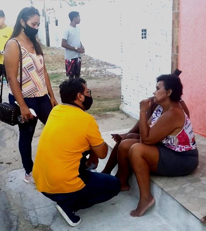 Rômulo Paulista segue sua campanha buscando a confiança do eleitor nos distritos da cidade