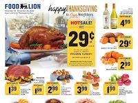 Food Lion Weekly Ad & Deals November 18 - 24, 2020