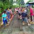 Koramil 1505-08/Sofifi Bersama Warga Galala Lakukan Pengecoran Jembatan