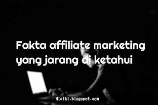 fakta affiliate marketing yang jarang diketahui
