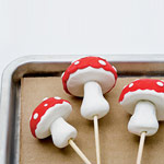 Enchanted Clay Toadstools - Step 3
