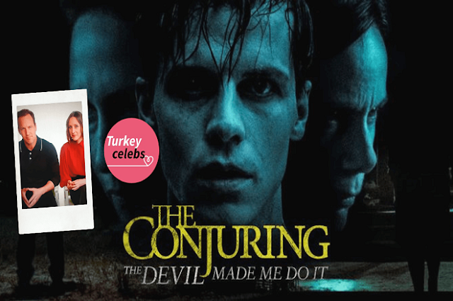 The conjuring movie bringing the warrens back to the big screen.