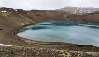 Cráter Víti. Alrededores del lago Mývatn. Islandia, Iceland.