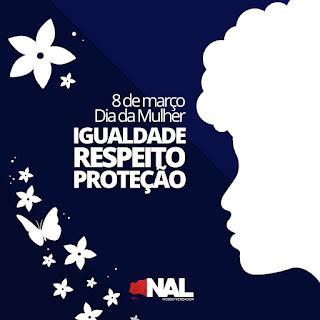 igualdade, respeito e proteção!  São com estas palavras que o vereador guarabirense Nal Fernandes iniciou sua mensagem para as mulheres em seu dia