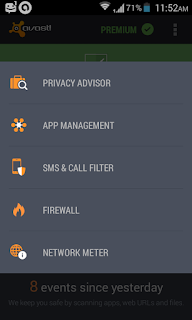 many more features are available on latest avast android antivirus