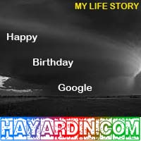 Happy Birthday Eyang Google Yang ke 14
