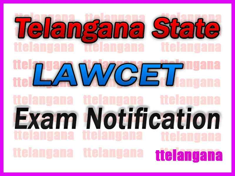 TS LAWCET  Notification Download