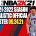 NBA 2K21 2021-2022 SEASON REALISTIC OFFICIAL ROSTER 09.24.21 (OFFICIAL LINEUP)