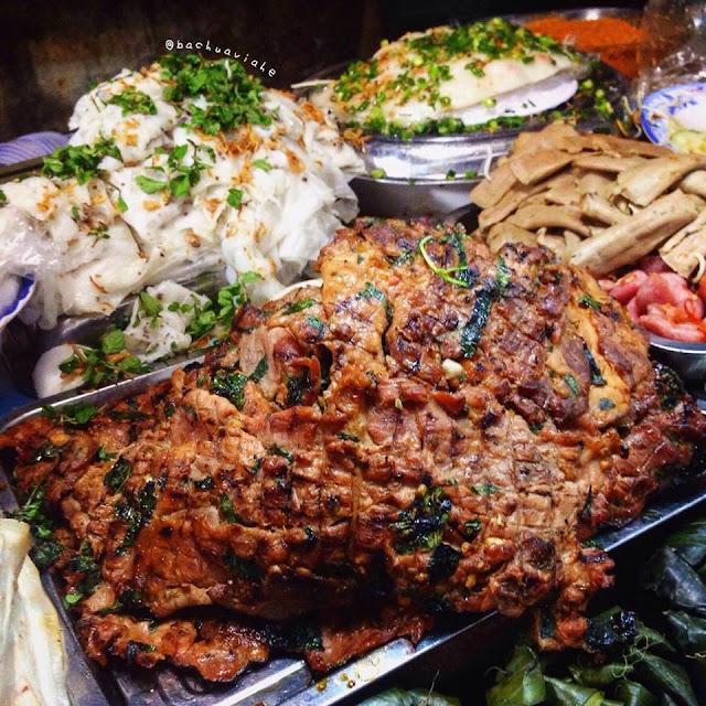 Bánh hỏi thịt nướng cô Tâm - Chợ Bắc Mỹ An, Hải Châu, Đà Nẵng