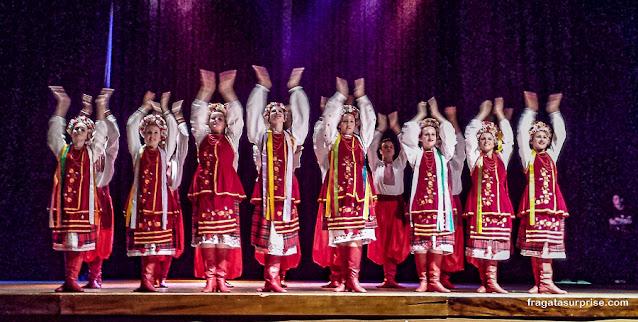 Grupo folclórico ucraniano Kalema, de União da Vitória, Paraná