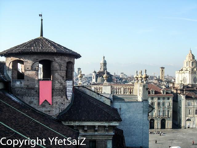 Panorama dalla Torre di Palazzo Madama