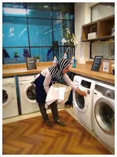 dapur unik bisa sambil laundry