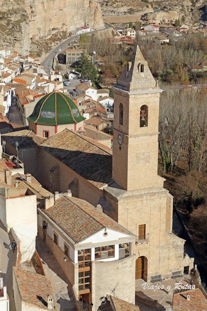 Iglesia de san andrés de Alcalá del Júcar