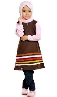 Baju muslim anak sederhana