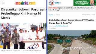 Nasib, Dulu Diresmikan Jokowi Kini Dijual Buat Bayar Utang Yang Mencapai Rp89 Triliun