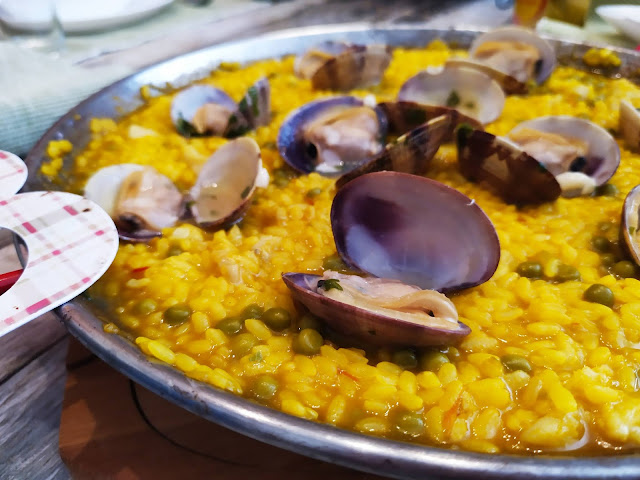 Arroz con bacalao y almejas - Happy Chef Aigostar
