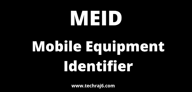 MEID full form, What is the full form of MEID