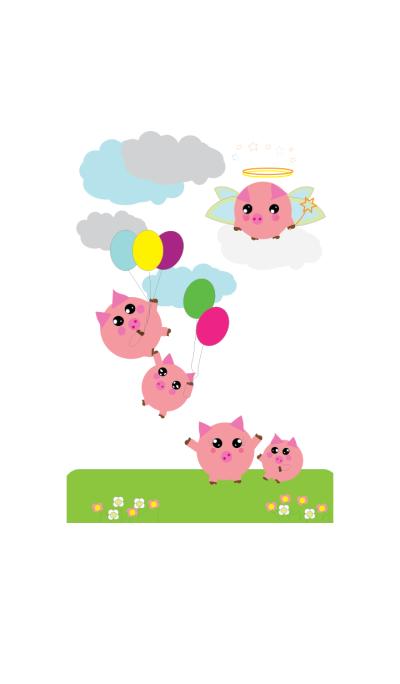 Cute little pig v1