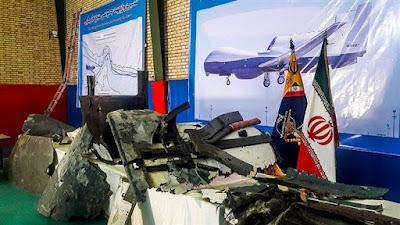 Iran dispalys drones