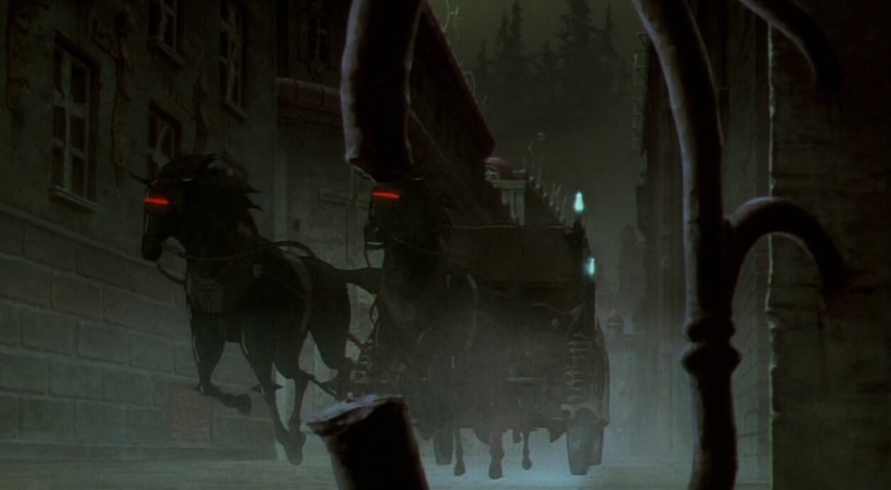 the carriage of vampire hunter d