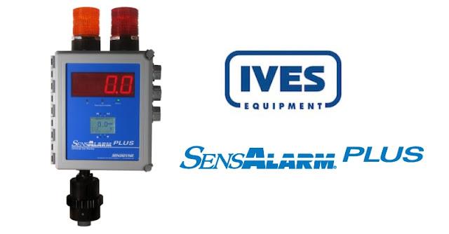 From Ives Equipment, The Sensidyne SensAlarm Plus