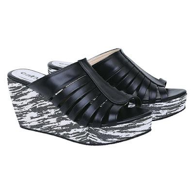 Sandal Wedges Wanita Catenzo JK 548