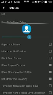 BBM MOD Black Drak v2.13.1.14 Apk Terbaru