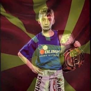 Kleiner Makedonier ganz groß - Vodenski ist GFN Fighter des Jahres 2015 Kids