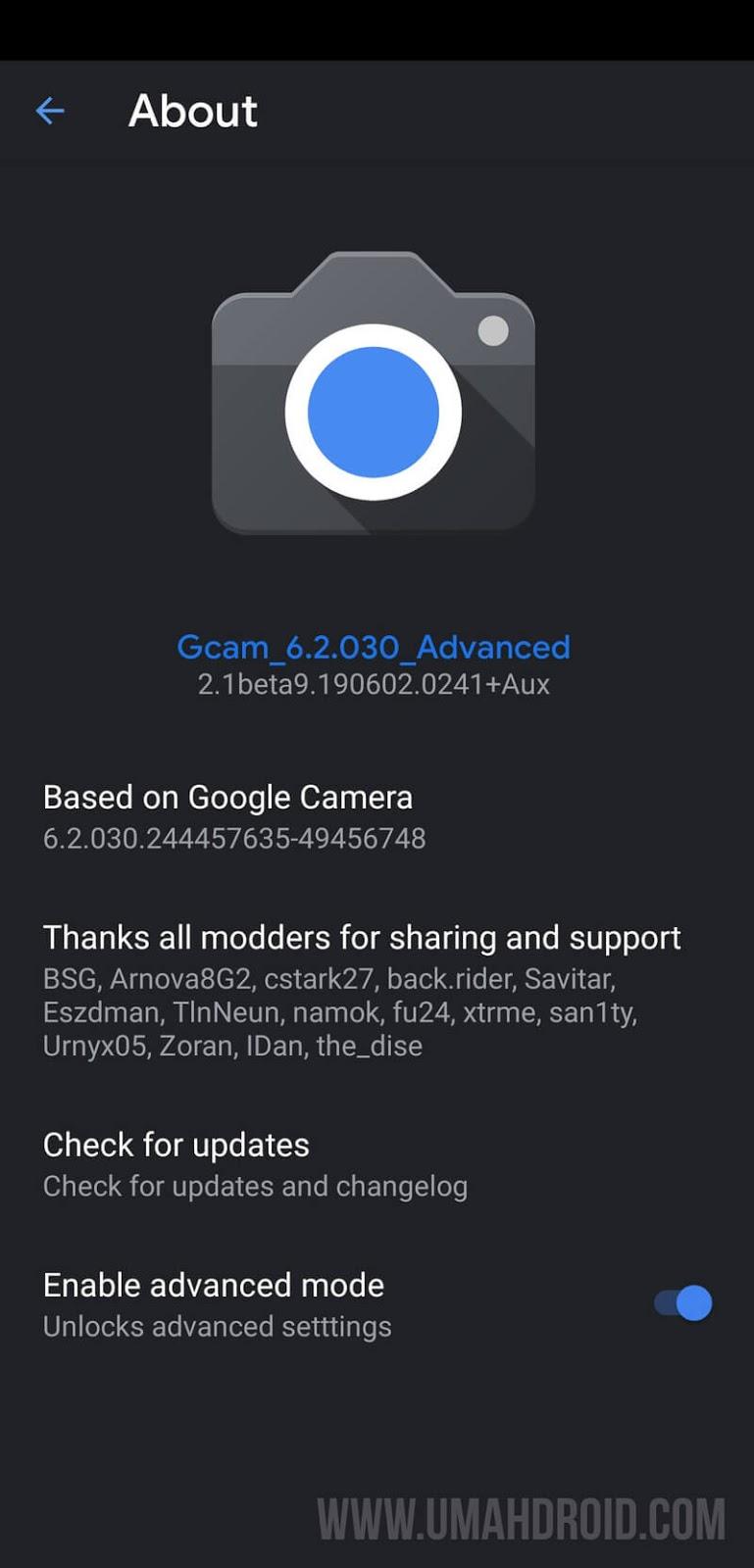 Download Gcam Apk Mod untuk Asus Zenfone 5 ZE620KL - Umahdroid