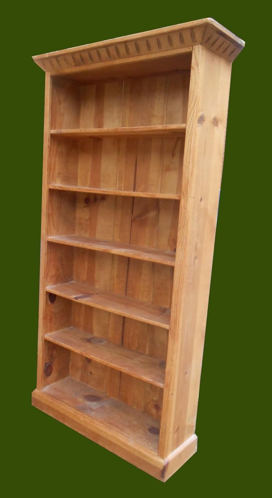 Uhuru Furniture Collectibles Pine Bookcase W Crown