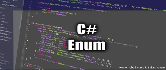 What is Enum in C#