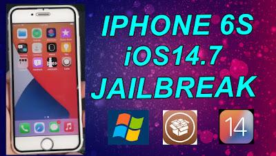 iPhone 6S iOS14.7 Jailbreak & Install Cydia On Windows Pc.