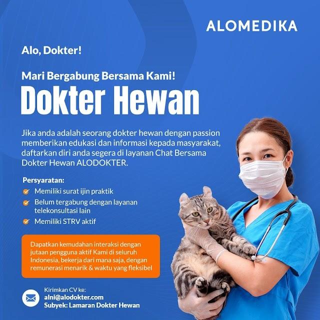 Loker Dokter Hewan ALODOKTER