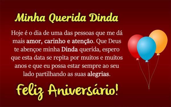 Feliz Aniversario Madrinha: Mensagens De Aniversário