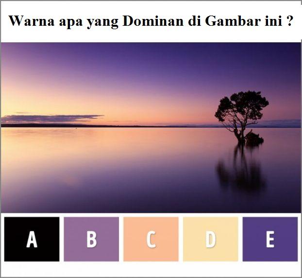 Warna apa yang paling dominan?