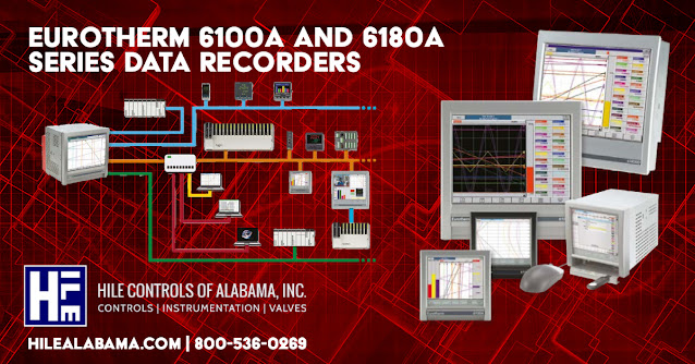 The Eurotherm 6100A and 6180A Series Data Recorders