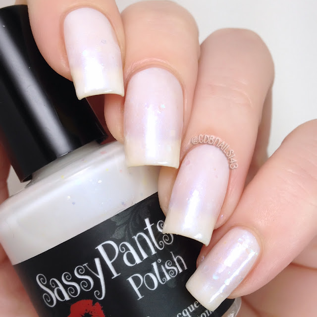 Sassy Pants Polish-First Snow