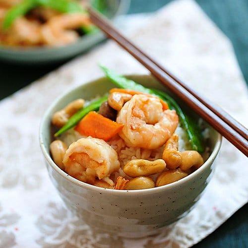 Chinese Shrimp with Cashew - 4