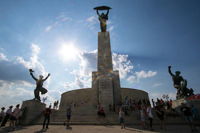 Collina Gellert-Monumento alla Libertà-Budapest