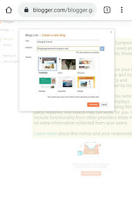 how to make Create new blogger account free google blogspot in hindi