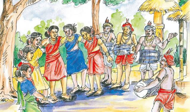 """ନୂଆଖାଇ"" - ୫ମ ସାହିତ୍ୟ (୪ର୍ଥ ଅଧ୍ୟାୟ) - ବିଷୟ, ଶବ୍ଦାର୍ଥ ଓ ଉତ୍ତରମାଳା, nuakhai, odisha opepa books, 5th class odia book mil, nuakhai by bipin bihari bisi"