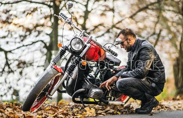 バイクと人物の場合
